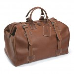 Hackett Fulham Leather Grip Bag