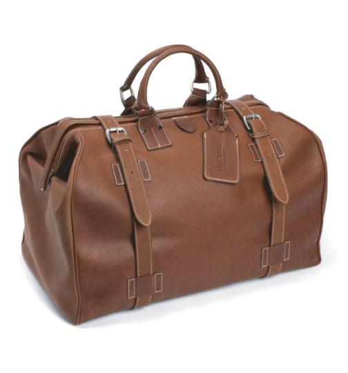 Hackett Fulham Leather Grip Bag