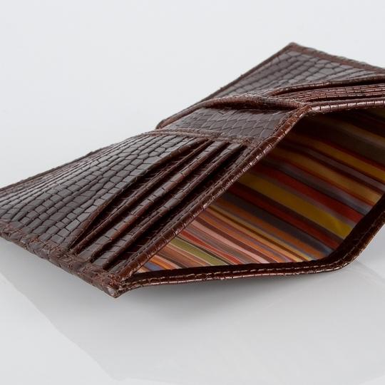 Paul Smith Mock Croc Wallet - Note Slot
