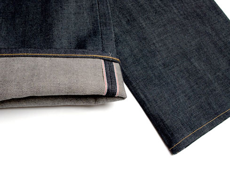Selvage detail