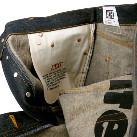 Inside pocket detail