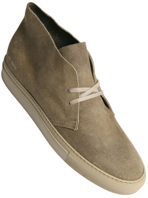 Common Projects Beige Desert Boot