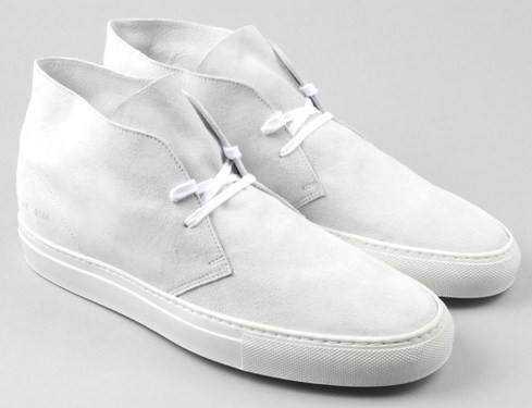 Common Projects White Desert Boot