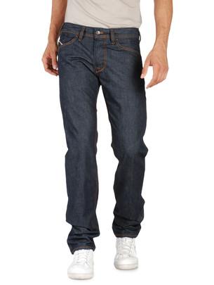 Dark Blue Indigo Jeans Diesel