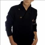 Vivienne Westwood Collegiate Shawl Collar Pullover