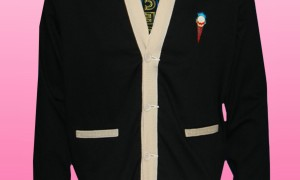 Ice Cream Rocket Cardigan in Black - Thumbnail Image