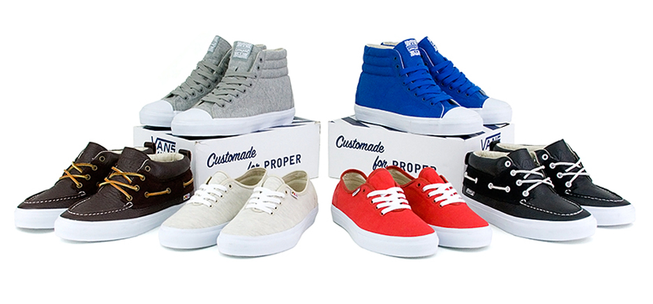 Vans x Proper Holiday '08 Collection