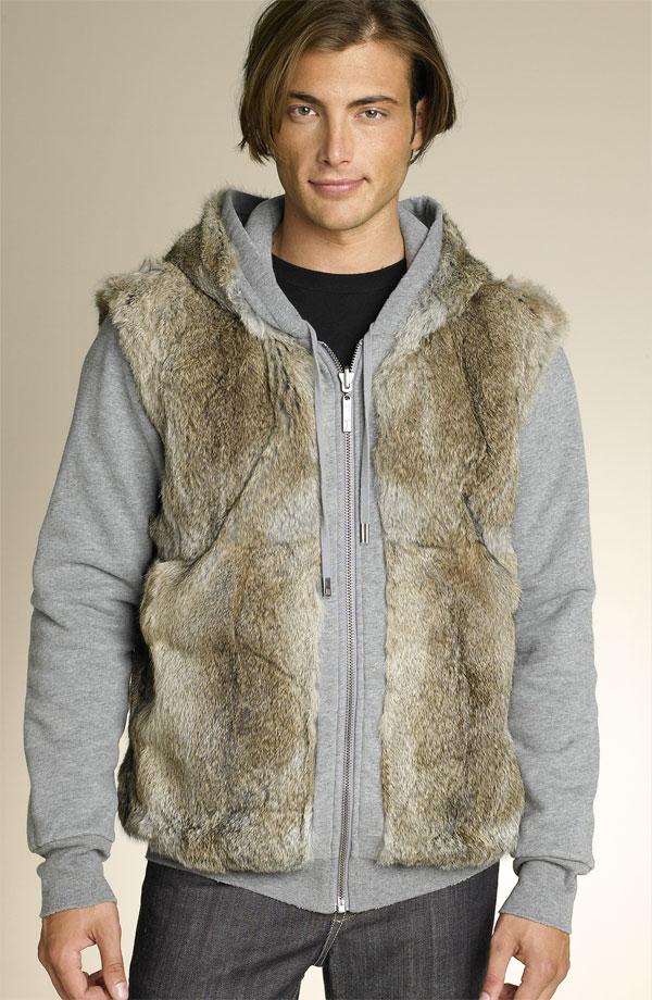 Juicy Couture Rabbit Fur Hoody - reverse