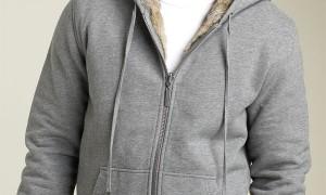 Juicy Couture Reversible Fleece & Rabbit Fur Hoody - Thumbnail Image