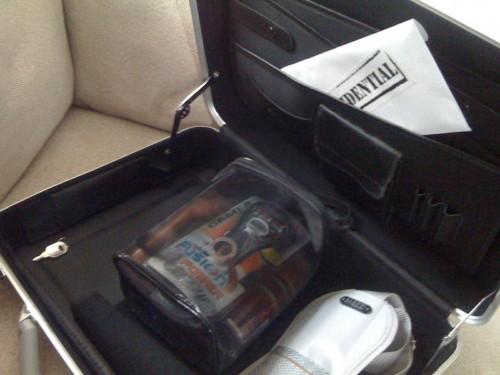 Gillette Briefcase Contents