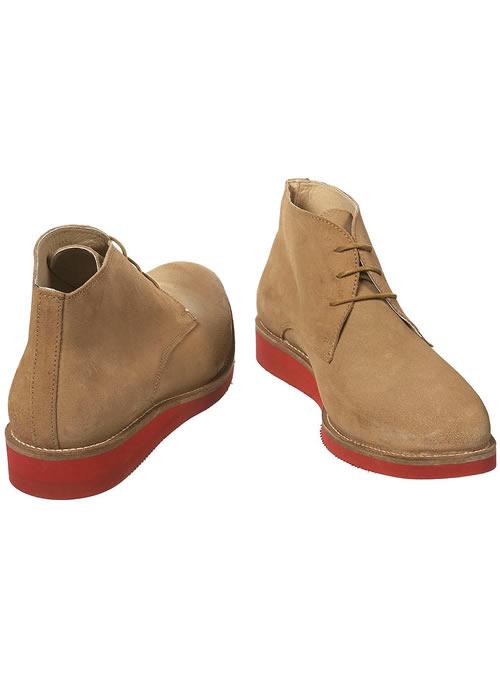 Topman beige oliver spencer chukka boots
