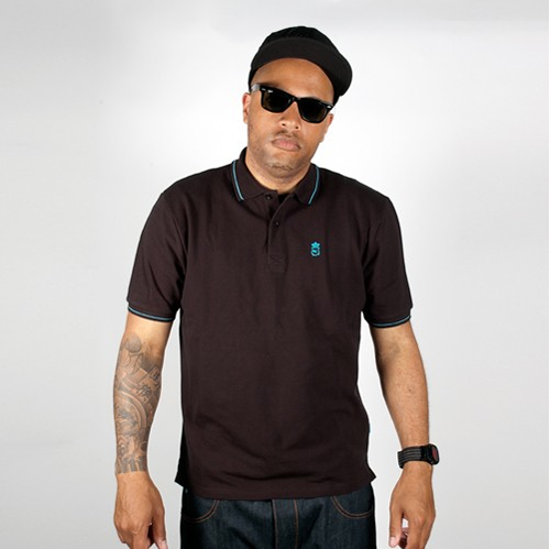 King Apparel Deluxe Polo Black
