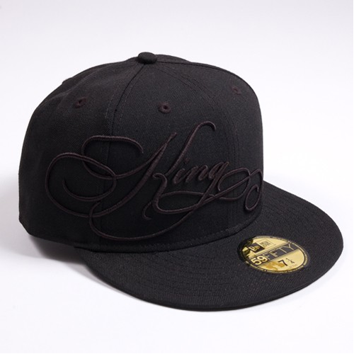 King Apparel Heritage Cap Black on Black