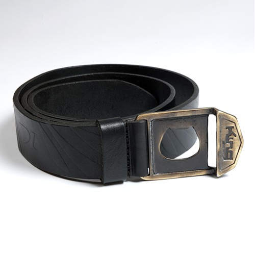 King Apparel KING Leather Belt Black