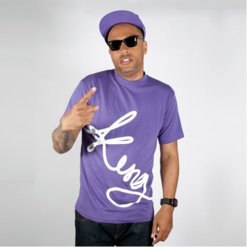 King Apparel Signature T-shirt Purple