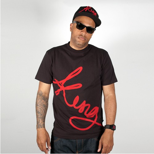 King Apparel Signature T-shirt Black