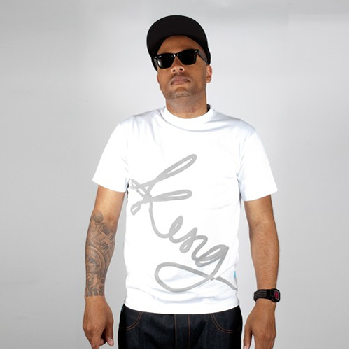 King Apparel Signature T-shirt White