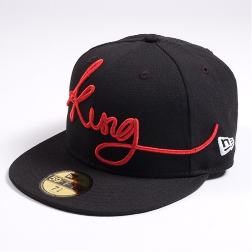 King Apparel Signature Cap Black