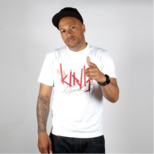 King Apparel Sharpen Up T-shirt White