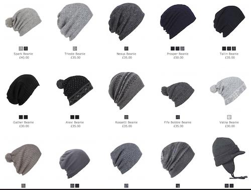 AllSaints.com Beanie Hats