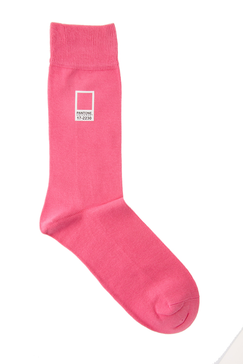 Pantone Pink 17-2230 Socks