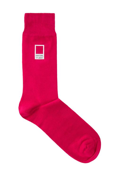 Pantone Pink 17-2031 Socks