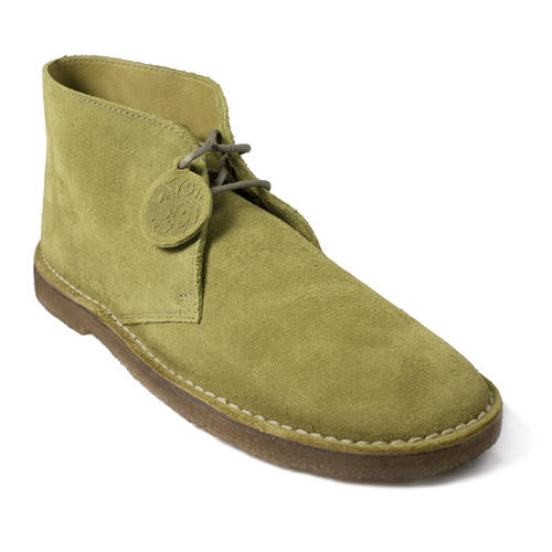 Pretty Green Green Collection Desert Boot
