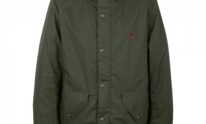 Pretty Green Military Hooded Jacket