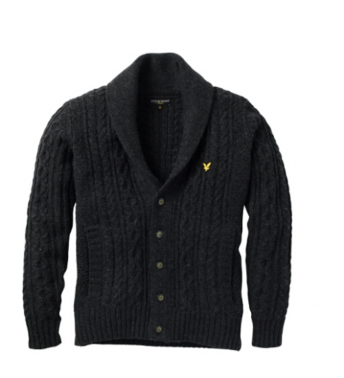 Lyle & Scott Christmas Collection - Cable Cardigan