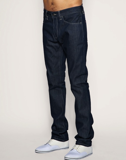Lacoste Red! label Dark Wash Slim Fit Jeans