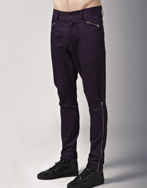 Unconditional Side Zip Carrot Jeans